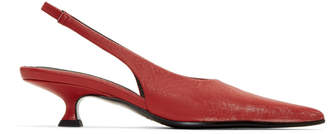 MM6 MAISON MARGIELA Red Slingback Heels
