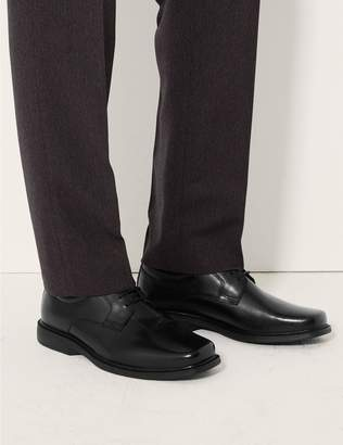 Marks and Spencer Extra Wide Fit Leather Shoes with Airflex