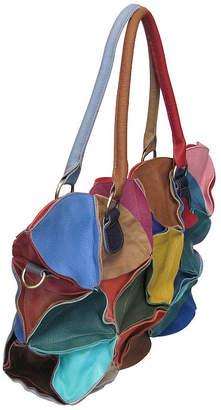 AMERILEATHER Amerileather Lotus Leather Tote Bag