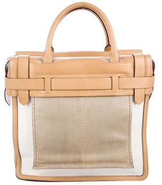 Reed Krakoff Snakeskin Inside Out Tote