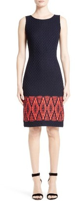Women's St. John Collection Baruti Knit Dress $895 thestylecure.com