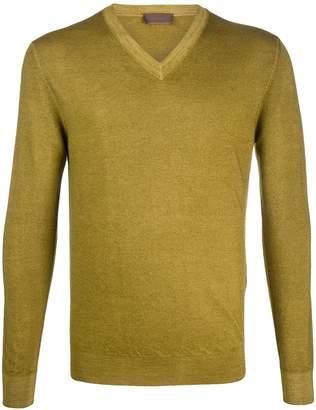 Altea V-neck long sleeve jumper