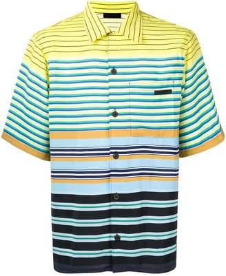 Prada striped button down shirt