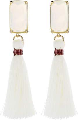 Panacea Tassel Drop Earrings