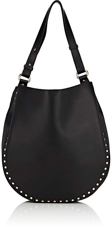Barneys New York Women's Studded Hobo Bag