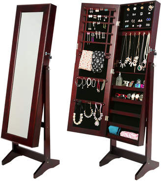 Forever Beauty Mirror Jewellery Cabinet Storage Organiser