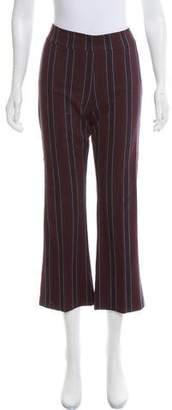 Avenue Montaigne High-Rise Striped Pants w/ Tags