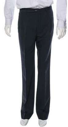 Maison Margiela High-Rise Pleated Pants