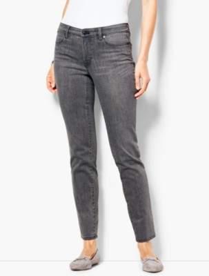 Talbots Slim Ankle Jeans - Luna Grey