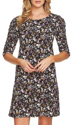 CeCe Abbey Puffed Sleeve Bouquet Dress