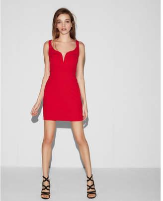 Express sweetheart neckline dress