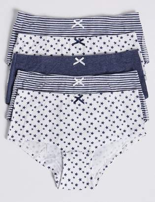 Marks and Spencer 5 Pack Dreamskin Star Shorts (6-16 Years)