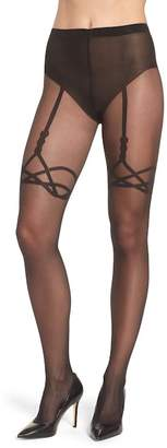 Wolford Katy Suspender Tights