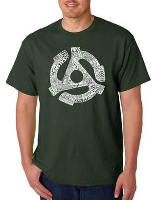 Pop Culture Men's T-Shirt - Record Adapter