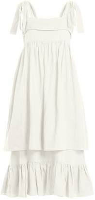 THREE GRACES LONDON Marianne linen dress