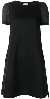 Moncler ruched sleeve mini T-shirt dress