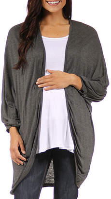 24/7 Comfort Apparel Cardigan-Plus Maternity
