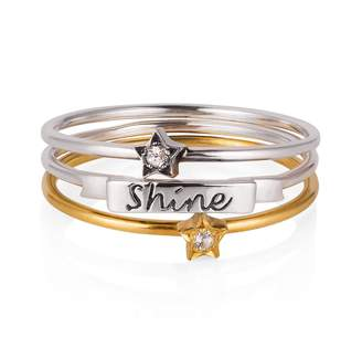 Lee Renee Shine Like A Star Stack Ring