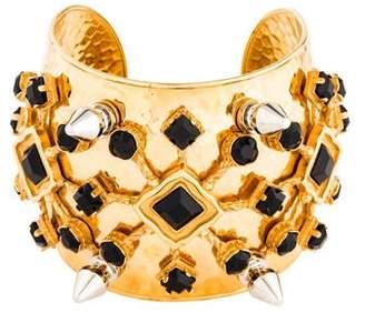 Dolce & Gabbana Crystal Spike Cuff