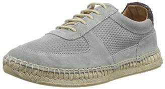 Fred de la Bretonière Women's Fred Espadrille Sports Lace up Baza Espadrilles Grey Size: 6