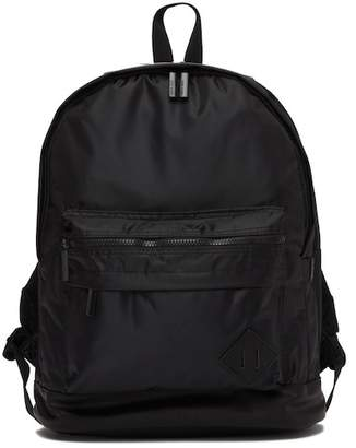 Steve Madden Ballistic Nylon Double Compartment Backpack