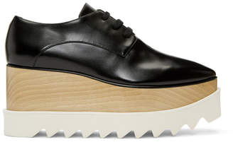 Stella McCartney Black Elyse Platform Derbys