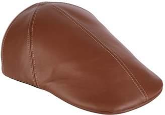 Burberry Lambskin Flat Cap
