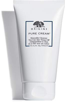 Origins Pure CreamTM Rinseable Cleanser You Can Also Tissue Off