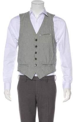 Marc Jacobs Woven Striped Vest