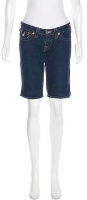 True Religion Denim Knee-Length Shorts