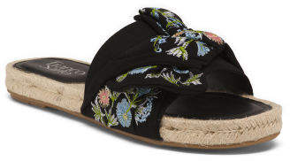 One Band Floral Espadrilles