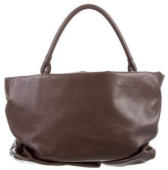 Maison Margiela Distressed Leather Handle Bag