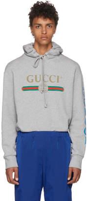 Gucci Grey Dragon Hoodie