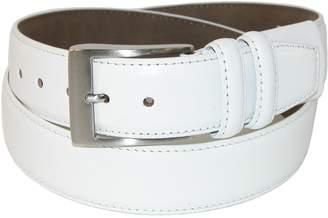 PGA TOUR Men's Hidden Stretch Basic Leather Dress Belt