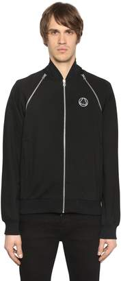 McQ Zip Shoulders Stretch Track Jacket