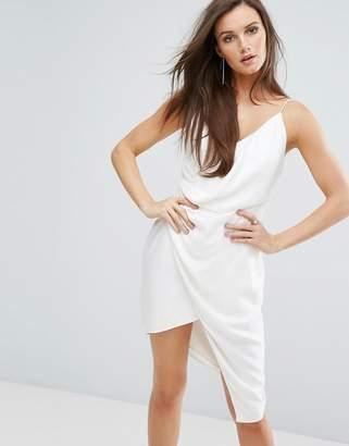 Style Stalker Stylestalker Mini Dress With Drape Panel