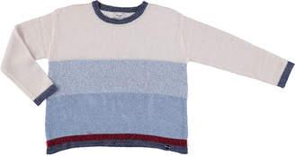 Mayoral Striped Knit Sweater, Multi, Size 8-16