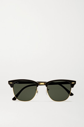 Ray-Ban Clubmaster Acetate Sunglasses - Black