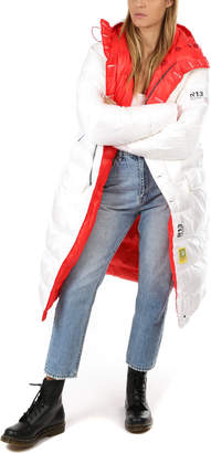 R 13 Long Anorak Puffer Jacket