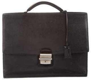 Cartier Grained Leather Briefcase