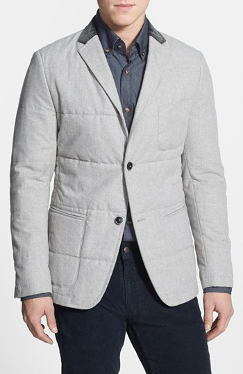 HUGO BOSS 'Marwin' Regular Fit Microcheck Quilted Sportcoat