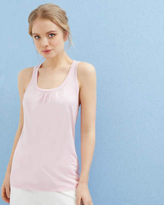 Ted Baker SKYLON Pleated detail cami top