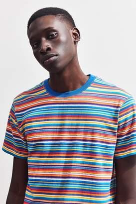 Urban Outfitters Rainbow Stripe Tee