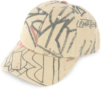 Ground Zero graffiti baseball cap