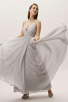 Anthropologie Eva Wedding Guest Dress