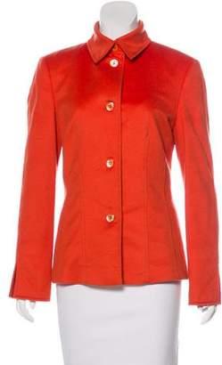Agnona Cashmere Button-Up Jacket