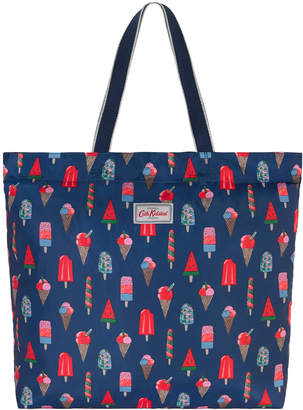 Cath Kidston Little Ice Cream Large Foldaway Tote