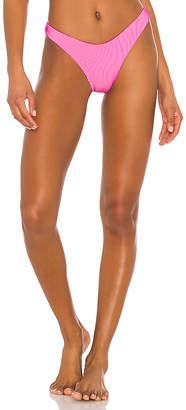 Luli Fama High Leg Bikini Bottom