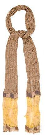 MissoniMissoni Multicolor Open Knit Scarf