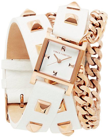 Vince Camuto Double Wrap Watch